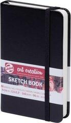 Talens Art Creation Sketchbook Black 9 x 14 cm 140 g