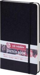 Talens Art Creation Sketchbook Black 13 x 21 cm 140 g