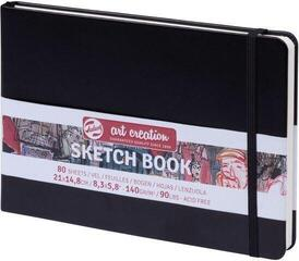Talens Art Creation Sketchbook Black 15 x 21 cm 140 g