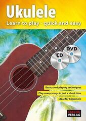 Cascha Ukulele Method with CD/DVD Music Book