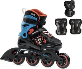 Rollerblade Thunder Black/Red 185 SET