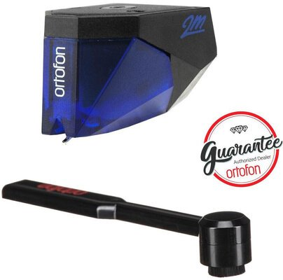Ortofon Ortofon 2M BLUE + Carbon Stylus Brush