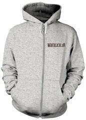 Burzum Filosofem 2 Hooded Sweatshirt With Zip L Grey