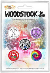 Woodstock Surround Yourself With Love Badge Pack