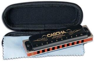 Cascha Professional Blues Mundharmonika in C-Dur