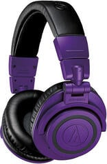 Audio-Technica ATH-M50xBT PB Purple Bluetooth Wireless On-ear headphones