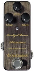 One Control Anodized Brown Distortion