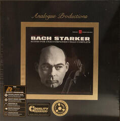 Janos Starker Bach: Suites For Unaccompanied Cello Complete (Box Set) (200 Gram) (45 RPM)