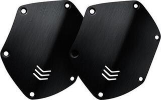 V-Moda M-200 Custom Shield Headphones shields Brushed Black
