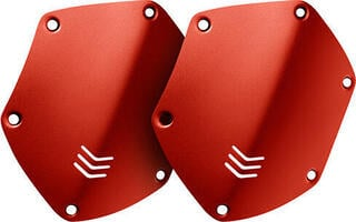 V-Moda M-200 Custom Shield Laser Red