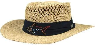 Greg Norman Straw Hat Natural