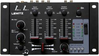 LEWITZ DJM201 Table de mixage DJ