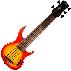 Kala Solid U-Bass 5-String Fretted CHBR