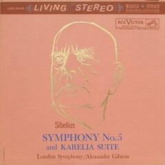 Alexander Gibson Sibelius: Symphony No. 5 And Karelia Suite (LP) (200 Gram) Audiophile Quality