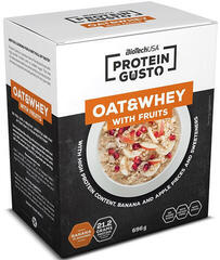 BioTechUSA Gusto Oat & Whey with Fruits Powder