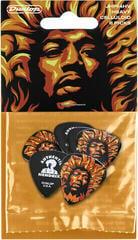 Dunlop Jimi Hendrix Guitar Picks VD Fire 6 Pack