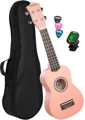 Cascha HH 3976 EN Szoprán ukulele Rózsaszín