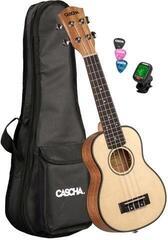 Cascha HH 2149 EN Sopránové ukulele Natural