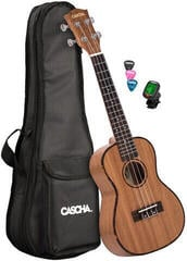 Cascha HH 2036 GB Premium Concert Ukulele Natural