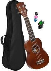 Cascha HH 3974 EN Szoprán ukulele Barna