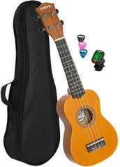 Cascha HH 3973 EN Sopránové ukulele Žlutá
