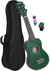 Cascha HH 3972 EN Sopránové ukulele Zelená