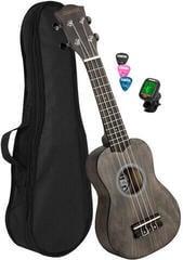 Cascha HH 3969 EN Sopránové ukulele Čierna