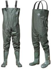 Delphin Chestwaders River Green