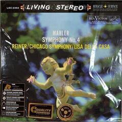 Fritz Reiner Mahler: Symphony No. 4/ Lisa Della Casa (200 Gram) Audiophile Quality