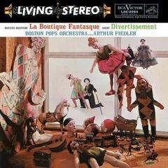 Arthur Fiedler Rossini-Respighi: La Boutique Fantasque & Ibert: Divertissement (200 Gram) (Vinyl LP)