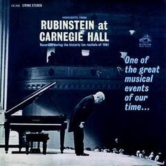 Arthur Rubinstein Highlights From Rubinstein at Carnegie Hall (200 Gram) (Vinyl LP)