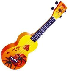 Mahalo Soprano Ukulele Hawaii Orange Burst