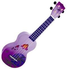 Mahalo Soprano Ukulele Hawaii Purple Burst