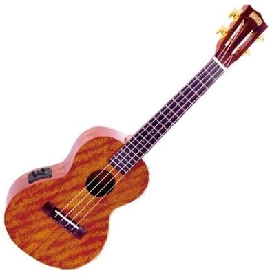 Mahalo Electric-Acoustic Tenor Ukulele Trans Brown