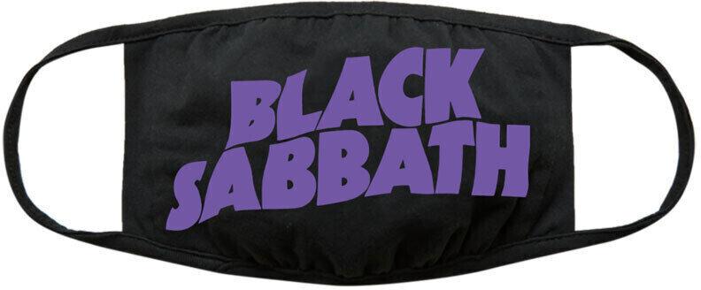 Black Sabbath Wavy Logo Music Face Mask