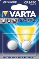 Varta CR2450 Lithium 3V 2 Pack