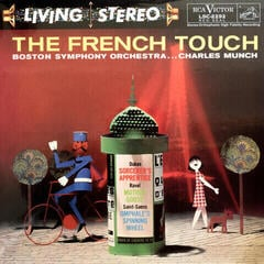 Charles Munch The French Touch (LP) (200 Gram) Audiophile Quality