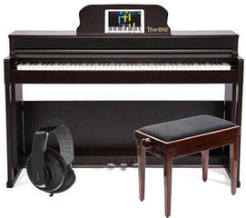 Smart piano The ONE Smart Piano Pro Rosewood SET