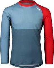 POC MTB Pure LS Jersey Calcite Blue/Prismane Red