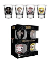 Guns N' Roses Mix Shot Glasses