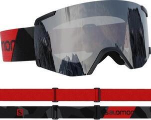 Salomon S/View Access Black/Red/Mirror Silver 20/21