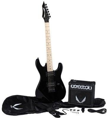 Dean Guitars Custom Zone Pack - CBK w/Amp & Acc