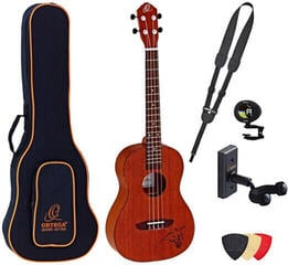 Ortega RU5MM-BA Deluxe SET Baritone Ukulele Natural