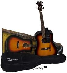 Dean Guitars AXS Prodigy Acoustic Pack Tobacco Sunburst
