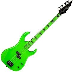 Dean Guitars Custom Zone Bass - Nuclear Green