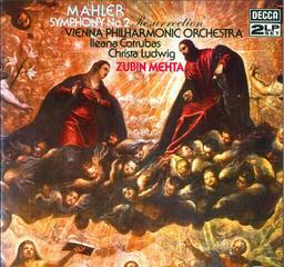 Gustav Mahler Symphony Nr. 2 (2 LP) Qualité audiophile