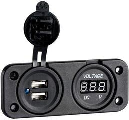 Osculati Digital Voltmeter and Dual USB port