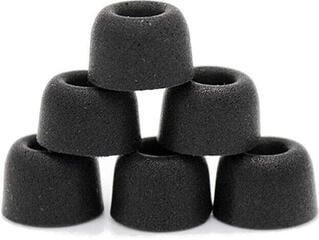 Dekoni Audio ETZ-TWS-SM Náušníky pro sluchátka AKG-Audio-Technica-Sennheiser-Shure standardní sluchátka 3 mm Černá