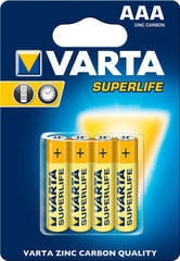 Varta R03 Superlife Extra Blister 4 Pack
