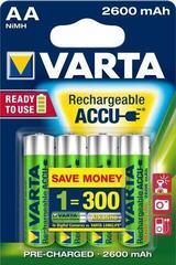 Varta HR06 Professional Accu 2600mAh AA Batteries